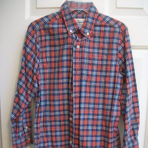 The Children's Place Plaid Shirt Boy 7 8